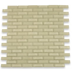 Loft Cream 1/2x2 Brick Pattern