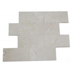 CREMA MORFILL 3 X 6 MARBLE MOSAIC TILES_MAIN