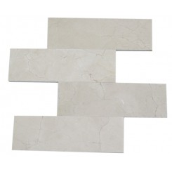 CREMA MARFIL 4 X 12 MARBLE MOSAIC TILES_MAIN