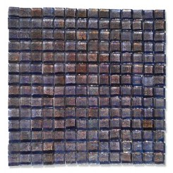 Gaby Dewy Iris Square Glass Tiles (Meshless)