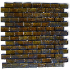 Gaby Dragon Wing Brick Glass Tiles