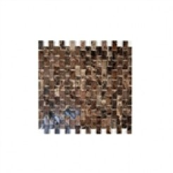 sample-DARK EMPERIDOR 1/2X1 BRICK  TILES 1/4 SHEET SAMPLE_1