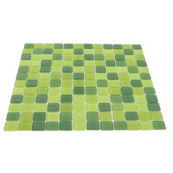 Loft Granny Smith Apple 1 x 1 Glass Tiles