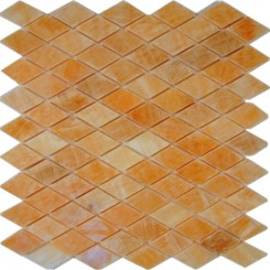 HONEY ONYX DIAMOND MARBLE MOSAICS_MAIN