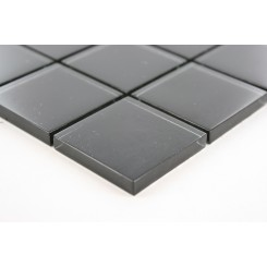 Sample-loft Classic Black Polished 2x2 1/4 Sheet Sample Tiles