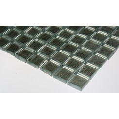 Sample-metallic Aluminum 1x1 1/4 Sheet-sample