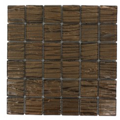 Terrene Copper Beech 2x2 Glass Tile