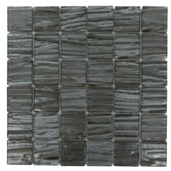 Terrene Black Locust 2x2 Glass Tile