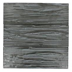 Terrene Black Locust 4x12 Glass Tile
