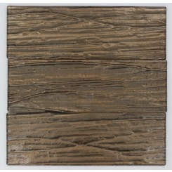 Terrene Copper Beech 4x12 Glass Tile