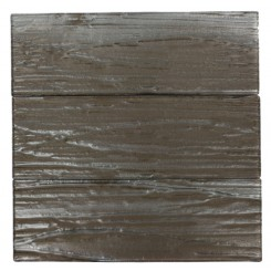 Terrene Rosewood 4x12 Glass Tile