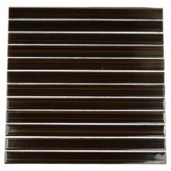 LOFT DARK CHOCOLATE 1X12 GLASS TILE_MAIN