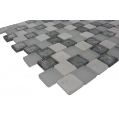 Sample-vestige Ice Mist 1/4 Sheet Tile Sample