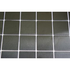 sample-METAL BLACK STAINLESS STEEL  2X2 SQUARE TILES SAMPLE_MAIN