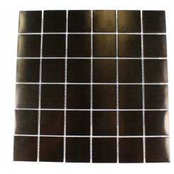 METAL ROSE STAINLESS STEEL  2X2 SQUARE TILES_MAIN