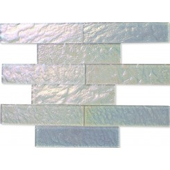 Neve Winterscape 2x8 Glass Tile