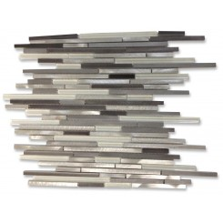 Industrial Stylus Ice Wetlands Aluminum Mosaic Tile