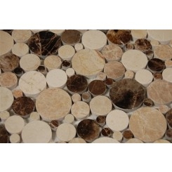 sample-KINETIC WOODLANDS CIRCLES 1/4 SHEET  TILES SAMPLE_MAIN