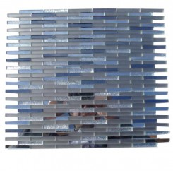 Metallic Styx Starry Night Glass Tile