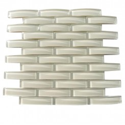 Loft Crescent Sand Beach Glass Tiles