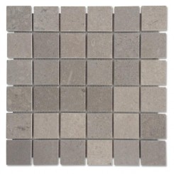Lady Gray 2x2 Honed Marble Tile