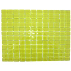 Loft Lemonade 1 x 1 Glass Tiles