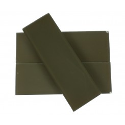 LOFT KHAKI FROSTED 4 X 12 GLASS TILES_1