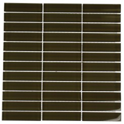 LOFT KHAKI POLISHED 1 X 4&quot; GLASS TILES&quot;_MAIN