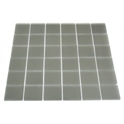 LOFT NATURAL WHITE FROSTED 2 X 2&quot; GLASS TILES&quot;_MAIN