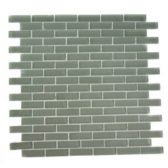 LOFT SEAFOAM BRICK 1/2 X 2 GLASS TILES_MAIN