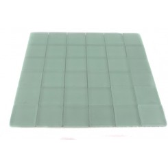 LOFT SEAFOAM FROSTED 2 X 2 GLASS TILES_MAIN