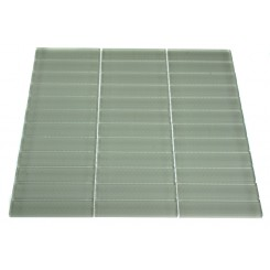 LOFT SEAFOAM POLISHED 1 X 4&quot; GLASS TILES&quot;_MAIN