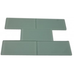 LOFT SEAFOAM POLISHED 3 X 6&quot; GLASS TILES&quot;_MAIN