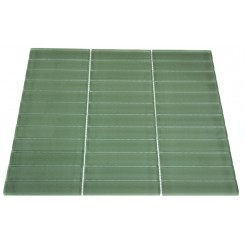 LOFT SPA GREEN POLISHED 1X4 GLASS TILE_MAIN