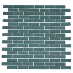 LOFT TURQUOISE 1/2X2 BRICK PATTERN_MAIN
