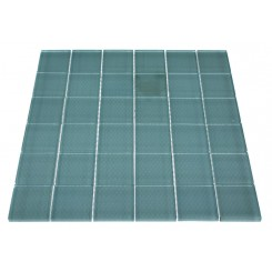 LOFT TURQUOISE POLISHED 2 X 2&quot; GLASS TILES&quot;_MAIN