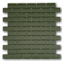 Loft Army 1 x 2 Glass Tiles