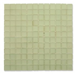 Loft Shell Frosted 1 x 1 Glass Tiles