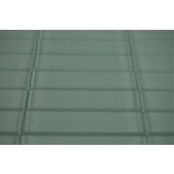 SAMPLE - LOFT SEAFOAM POLISHED 1x4 GLASS TILES 1 PIECE SAMPLE_1