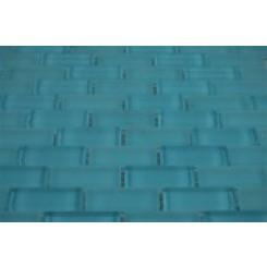 sample-LOFT TURQUOISE 1/2x2 brick 1/4 SHEET SAMPLE TILES_1