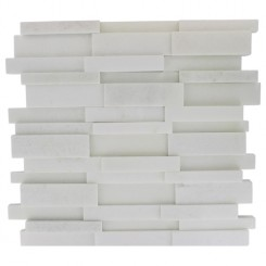 ILLUSION 3D BRICK WHITE THASSOS PATTERN_MAIN