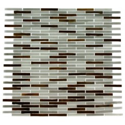 Matchstix Precipice Glass Tile