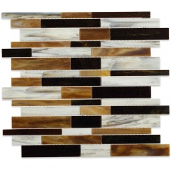 Matchstix Meadowlark Glass Tile