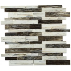 Matchstix Rainstorm Glass Tile