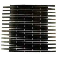 METAL BLACK STAINLESS STEEL 3/8X4 STICK BRICK TILES_MAIN