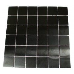 METAL BLACK STAINLESS STEEL  2X2 SQUARE TILES_MAIN