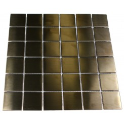 METAL COPPER STAINLESS STEEL 2X2 SQUARES TILES_MAIN