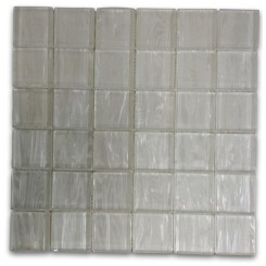 Metallic Cosmic Dust 2x2 Glass Tile