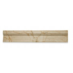 Novel Crema Marfil Chair Rail Marble Tile Liner