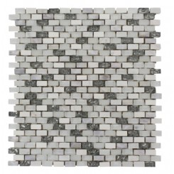 Paragon Atlantic Bubble Mini Brick Pattern  Tile